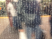 dirty post rain window