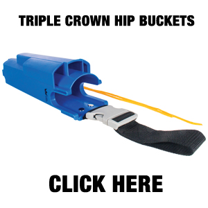 TRIPLE CROWN HIP BUCKET