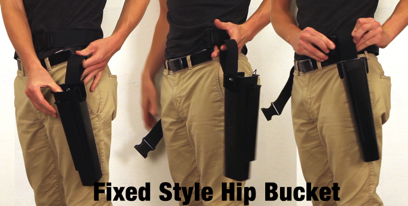 Fixed Style Hip Bucket