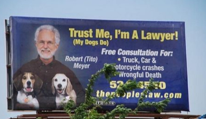 This billboard ad actually is quite effective. Why?