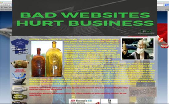 Bad Websites Hurt Business